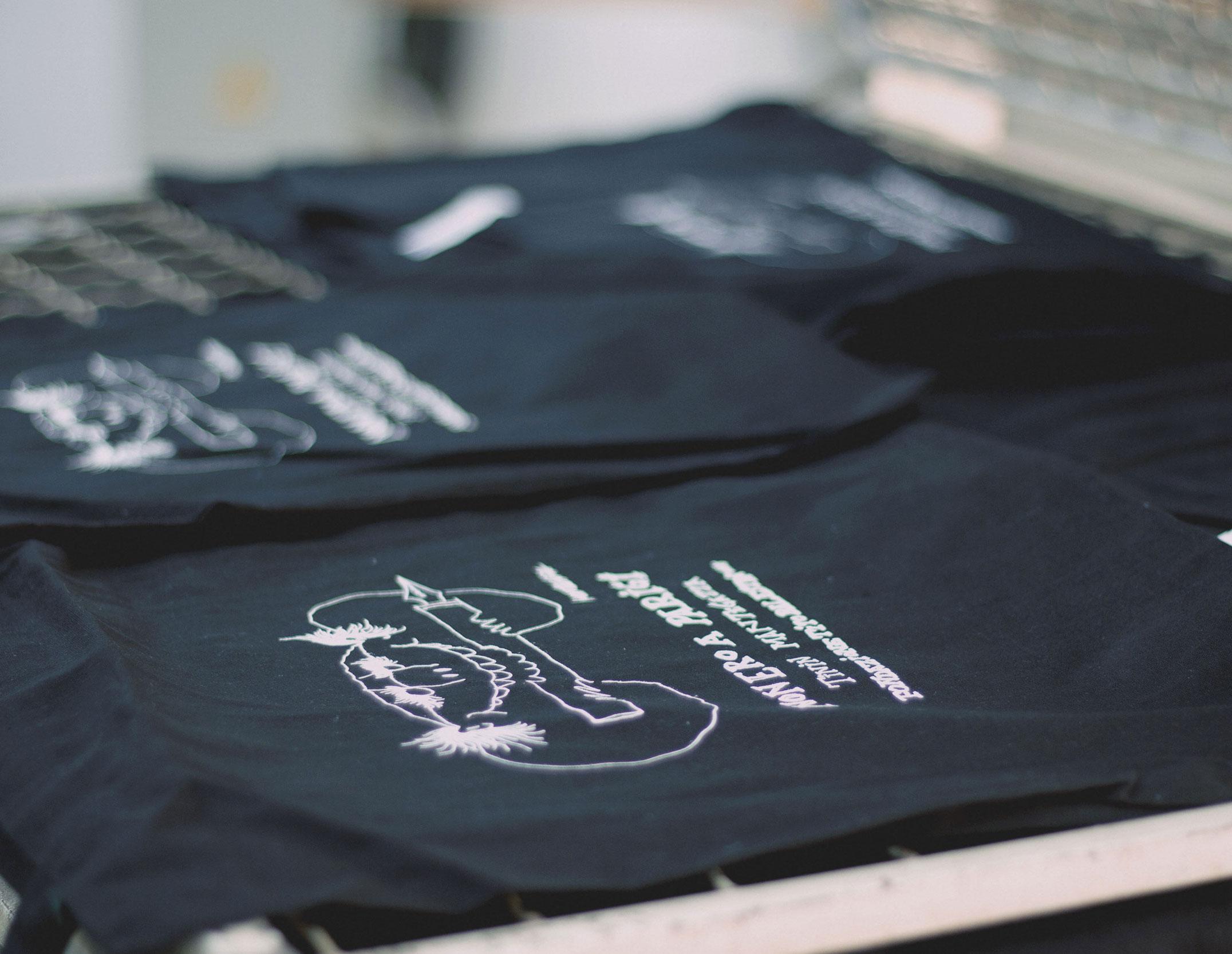 Shopper in cotone stampate in serigrafia con personalizzazione
